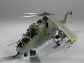 直升机 米-24A武装直升机 俄式直升机 雌鹿直升机 多用途武装直升机 攻击直升机 重型武装直升机