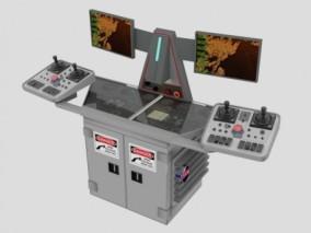 控制台 控制器 机器 设备 3d模型