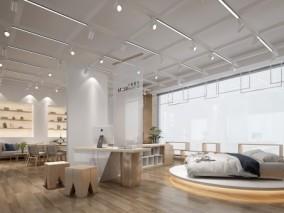现代家具展厅 3d模型