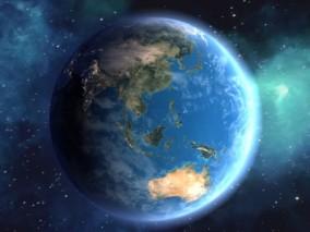 地球冲击 冲地球 卫星地球 影像信息 宇宙 太空 星球 星系 星空 大气层150-184568