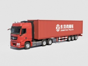 东风天龙 卡车 商用车 汽车 3d模型