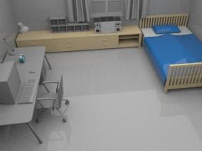房间场景模型