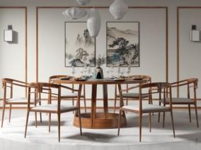 新中式 家居 餐厅