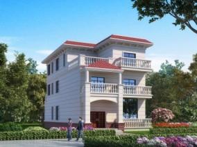 简欧别墅外观,建筑室外,外景外立面,植物灌木,人物 3d模型