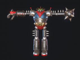 次世代 PBR 写实 机甲 科幻机器人 机器人  机甲战士   战争机甲 杀戮机械 钢铁