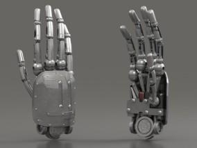 机械科幻手臂 机器人SCIFI高科技未来模型  仿真机器人手 3d模型