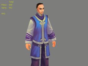 3D模型 古代人物 人物 古人01