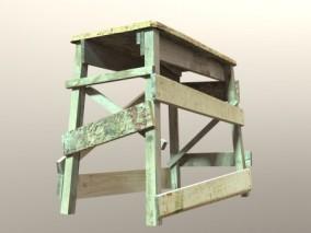 梯子 木架 建筑 建筑