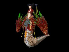 次世代 写实 3D模型 怪物 神兽 Boss