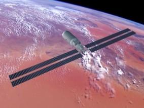 问天实验舱+长征5B火箭(中国天宫空间站)