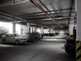 ue4 超写实场景 地下停车场 超高质量建筑 汽车 现代建筑 驻车场 虚幻4 3d模型