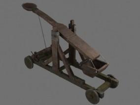 PBR次世代 投石车 投石器 攻城车 攻城器械 古代战车 投弹车 中世纪 弹射器