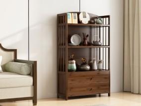 新中式陈列柜饰品柜架置物架