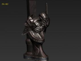 雕像 雕塑 遗迹