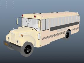 车    公交车    3d模型