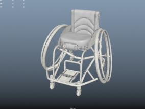 轮椅  3d模型