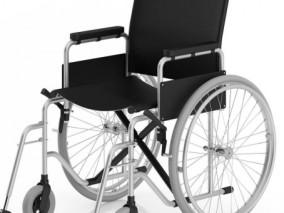 轮椅 老式轮椅 手动轮椅 折叠轮椅 残疾人轮椅 老年人轮椅 医疗设备轮椅模型
