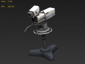 演播室 录制机 3d模型