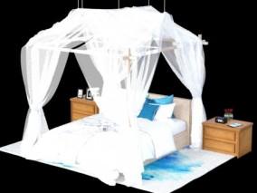 床    海景床 3d模型