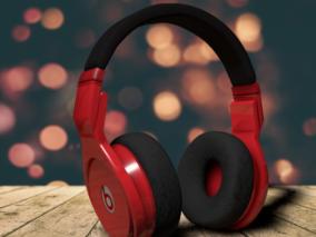 耳机 头戴式耳机 头戴式蓝牙耳机 蓝牙耳机 耳放 音响设备 耳套  3d模型