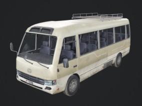 PBR 老式客车 90年代乡镇公路运输 中型巴士 短途客车 短途客运车辆