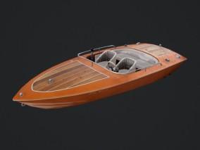 次时代 5种颜色 快艇 游艇 小艇 观光艇