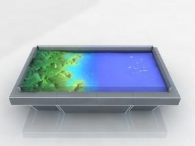 攻防对抗沙盘 电子沙盘 军事电子沙盘 3d模型