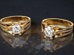 钻戒 婚戒 戒指 金银钻戒 钻石 珠宝 铂金 黄金首饰 配饰订婚戒指 钻石戒指 指环 钻戒 宝石铂金