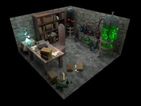 炼金术实验室 魔幻实验室