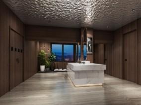 洗手间 3d模型