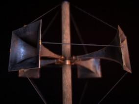 PBR次世代 扩音器喇叭 扩音喇叭 广播喇叭 铁公鸡 老式扩音机  3d模型