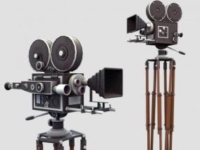 复古电影摄影机