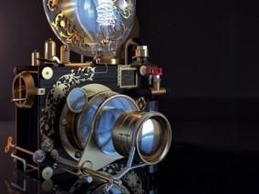 蒸汽朋克照相机