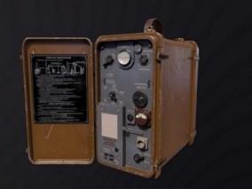 电台 无线电 发报机 3d模型