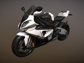 超级超细摩托车 机车 终极模型 BMW S1000RR for DIS 3d模型