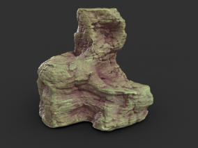 钟乳石,溶洞岩石,石钟乳,石头,石柱,石子,石块 3d模型