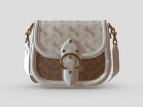 女士包包 女包 皮包 3d模型