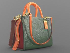 蔻驰 皮包 手提包 写实手提包 次世代 3d模型