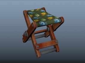 渔夫椅 板凳 凳子 座椅 小板凳 交叉椅子 卡通椅子 儿童小板凳