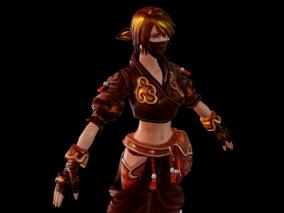 次世代 写实 古装大小姐 女侠 古代美女 古代人物 侠女 中国风 武林 舞女 3d模型