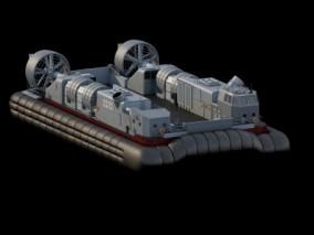 726型气垫登陆船 3d模型