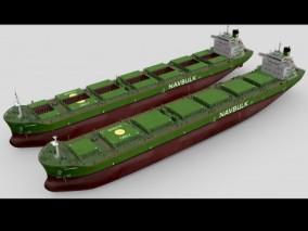 超级油轮 货轮 货船 补给船 商船 液化气船 天然气船 港口 航母 军舰  3d模型
