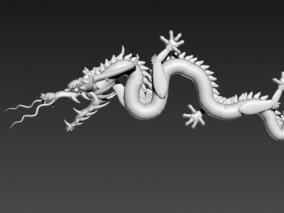 龙的传人 3d模型