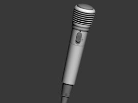 麦克风 3d模型