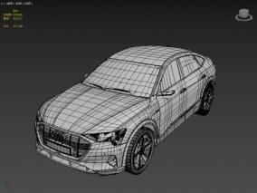 Audi e-tron Sportback 奥迪 FBX OBJ MAX 3d模型