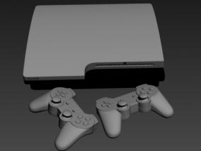 游戏手柄 3d模型