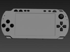 游戏机 3d模型