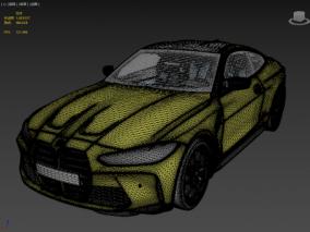 BMW M4 G82 2021 FBX 3d模型