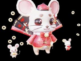 3D模型 可爱老鼠 老鼠 3D老鼠