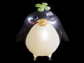 次世代 Q版小鸟 小鸟 鸟 企鹅 3d模型